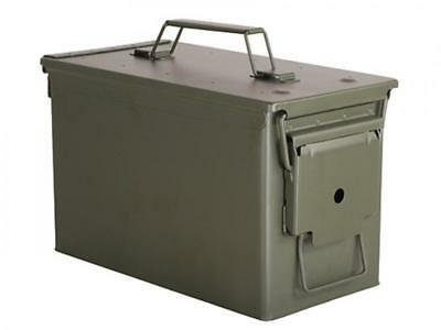 50cal M2A1 US Military Ammo Can box chest, New Blackhawk