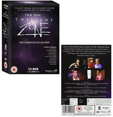 THE TWILIGHT ZONE (1985-1989) - COMPLETE NEW 80's Series - NEW UK DVD not US