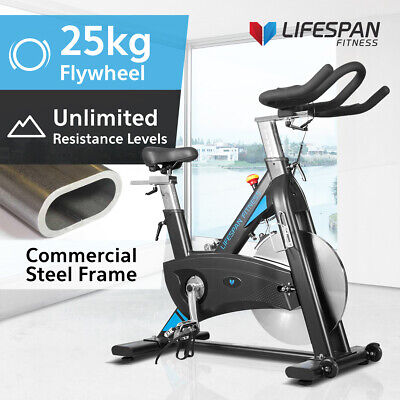 Commercial Belt Drive Spin Bike -Lifespan SP-870 Exercise Fitness Gym Quiet 25KG