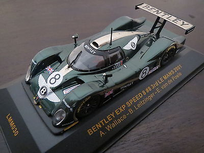 RARITÄT: IXO Models Bentley EXP Speed 8 #8 3rd Le Mans 2001, brg, 1:43, TOP!