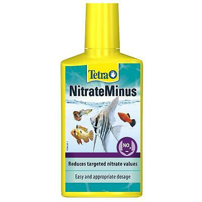 250ml TETRA AQUA NITRATEMINUS MARINE AQUARIUM NITRATE REMOVER WATER TREATMENT