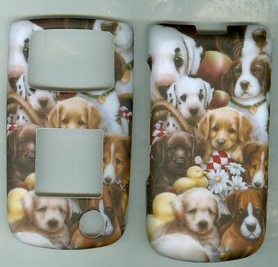 Puppies Samsung SGH Rugby 2 A847 AT&T phone cover case rubberized