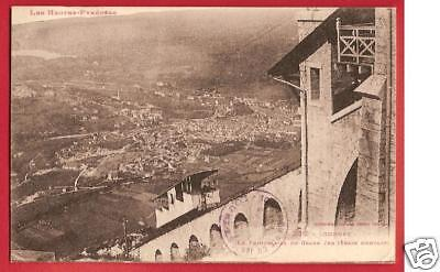 CPA postcard Funiculaire du Grand Jer LOURDES 65 train A