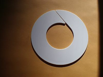 Size Divider Rings(Blank)with Larger Inside Diameter for Clothing Racks  x 10pcs