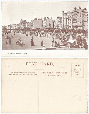 CPA postcard at the seaside hotel BRIGHTON FRONT WEST Angleterre  A