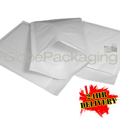 200 x E/2 WHITE PADDED BUBBLE BAGS ENVELOPES 205x245mm (EP5)
