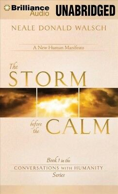 NEW The Storm Before the Calm by Neale Donald Walsch Compact Disc Book (English)