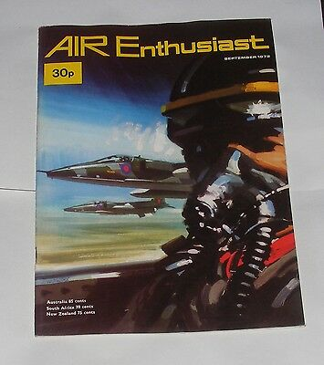 Air Enthusiast September 1972 - A Short Fairey Tale/jaguar