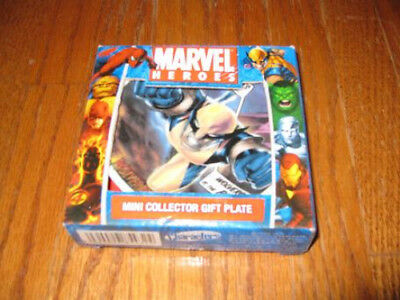 Marvel Heroes Comics Mini Collector Plate Wolverine
