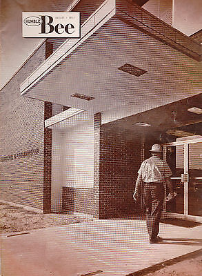 The Humble Bee Humble Oil Magazine Maintenance Construction Building August 1957