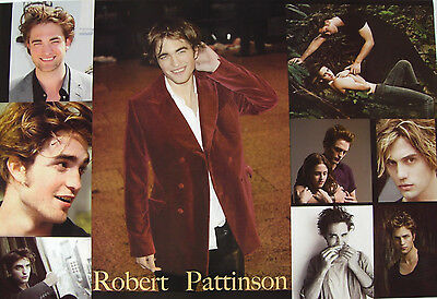 "Twilight ""robert Pattinson / Edward Cullen Collage"" Asian Movie Poster"