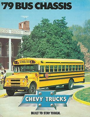 1979 Chevrolet Bus Chassis Brochure (Usa)