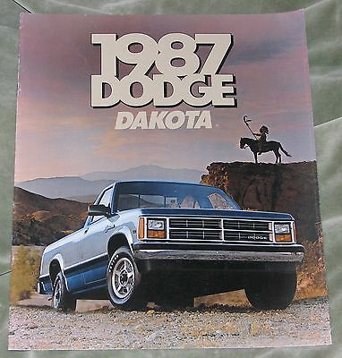 1987 Dodge Dakota Brochure (Usa)
