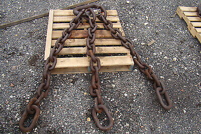 "ACCO Triple Leg 145,800LB. Demolition Magnet Chain 6' 4"" Reach"