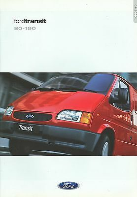 2000 Ford Transit Brochure (Dutch)