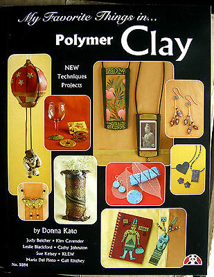 MY FAVORITE THINGS IN POLYMER CLAY-Sculpey/Fimo Book