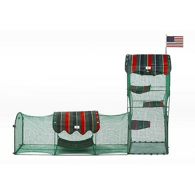 Kittywalk Systems Town & Country Collection outdoor pet cat enclosure