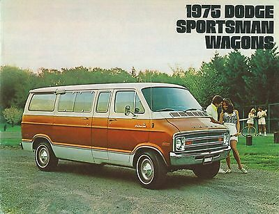 1975 Dodge Sportsman Wagons Brochure (Usa)