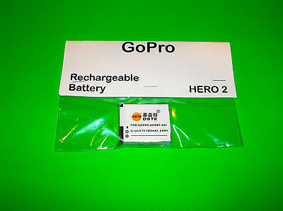 GO PRO GOPRO HERO 2 OUTDOOR MOTORSPORT EDITION HD CAMERA REPLACEMENT BATTERY