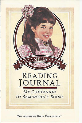 Pleasant Company Samantha Reading Journal! Companion To Her 5 Books~Retired~1992