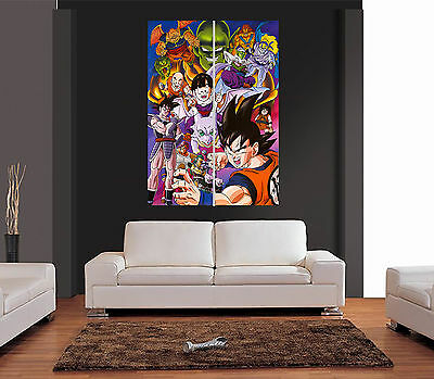 DRAGONBALL Z Ref 01 ANIME Giant Wall Art Print Picture Poster