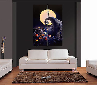 THE NIGHTMARE BEFORE CHRISTMAS Ref 01 Giant Wall Art Print Picture Poster