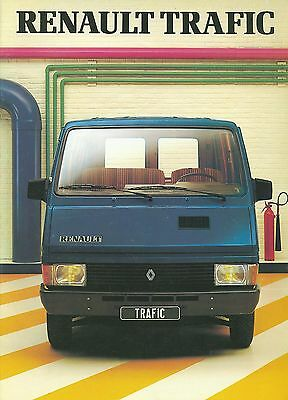 Renault Trafic Brochure (French)