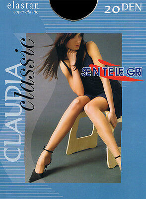 """Top Quality Tights Sentelegri """"CLAUDIA"""" 20 Denier ,Sheer  , Available 9 colours"""