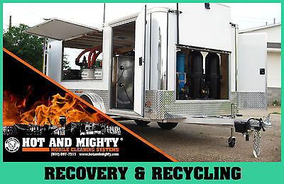Pressure Washer Recycling Trailer,  Wash Water Recycling, Power Washer Recycle