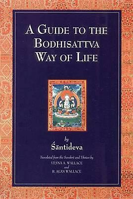 A Guide to the Bodhisattva Way of Life by Shantideva (English) Paperback Book
