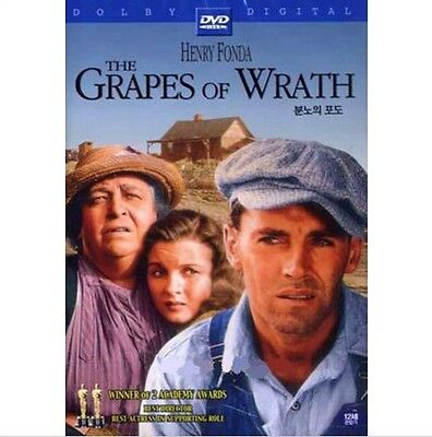 The Grapes of Wrath (1940) DVD - Henry Fonda (New & Sealed)