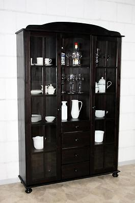 traum vitrine glasschrank fichtenholz vitrinenschrank. Black Bedroom Furniture Sets. Home Design Ideas