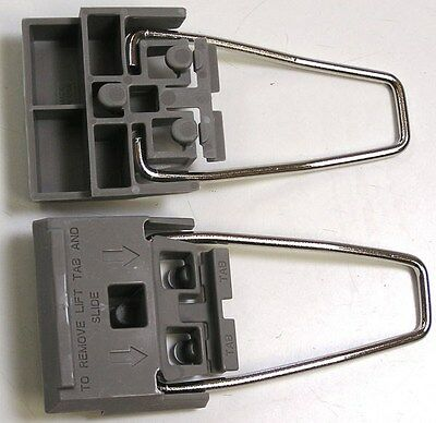 Set of 2 Instrument Feet w/wire bails HP/AT Light Grey