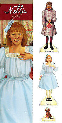 Retired American Girl Introducing Nellie Bookmark! 2004! Samantha Doll Cut~Outs