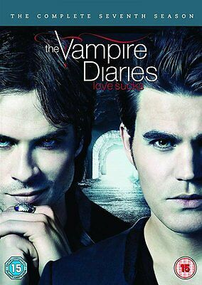 VAMPIRE DIARIES Stagione 7 Serie Completa BOX 5 DVD in Inglese NEW .cp