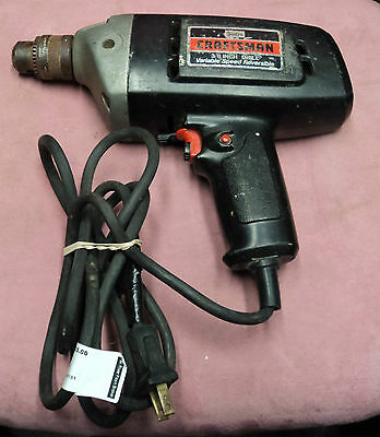 Sears Craftsman Model 315.10411 Corded Drill USED AS-IS