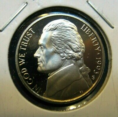 1993 - S    Jefferson  Nickel  Gem  Proof  Full  Steps Deep Cameo  Free Shipping