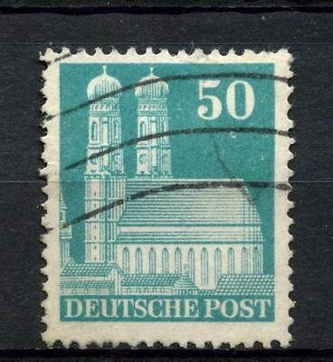 Germany Allied Occ. 1948 SG#A127a 50pf Frauenkirche Munich P14 Used #A37092