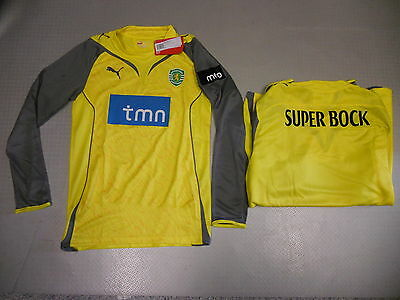 Torwart Trikot Sporting Lissabon 10/11 Orig. Puma Gr. S M L XL XXL player issue