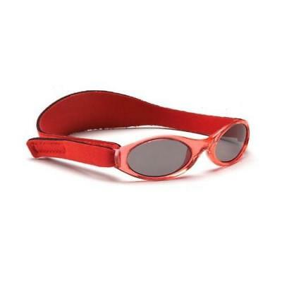 Baby Banz Adventurer Sunglasses 100% UVA/UVB Protection (Ages 0-2yrs) Red