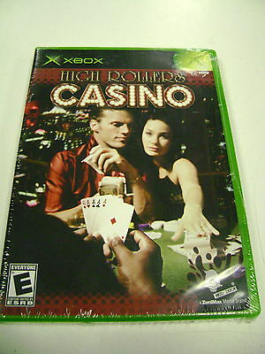 """High Roller Casino (Xbox) BRAND NEW for the """"Original"""" XBOX System"""