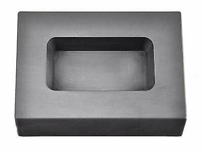 10 oz Troy Ounce Silver Rect Graphite Ingot Mold Casting Melting Refining Metal