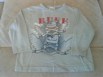 Baby Boys 12-18 months - Grey Long Sleeved Top - Dogs - Ruff!