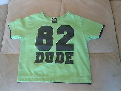 Baby Boys 6-9 Months - Green T-Shirt - 82 Dude - Next