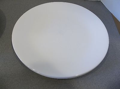 Corelle Dinnerware Winter Frost Set 4 Dinner Plates Solid All White