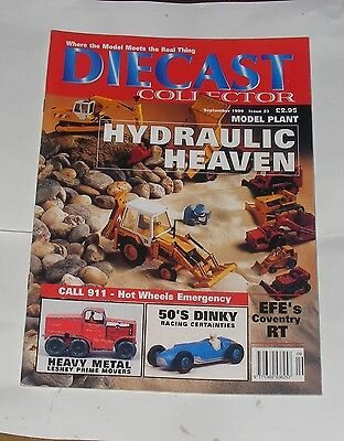 Diecast Collector September 1999 - Hydraulic Heaven