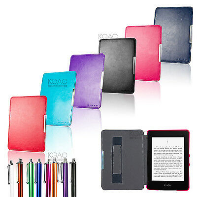 Magnetic Leather Smart Case Cover for Amazon Kindle Paperwhite 5 Ultra Slim WiFi