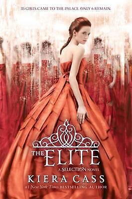 The Elite by Kiera Cass (English) Hardcover Book Free Shipping!