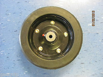 "Replacement Finishing Mower Wheel- 10"" X 3.25"" With 1/2"" Axle Hole-Fits Many"