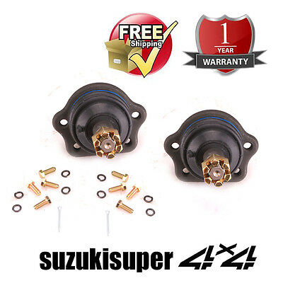 Set of 2 Nissan Navara D21 4WD Front Upper Ball Joint Kit 8/1985 onwards